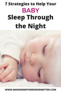 Baby sleep through the night