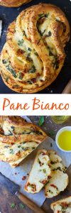 fresh basil recipes PANE BIANCO