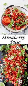 fresh basil recipes STRAWBERRY SALSA
