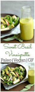 fresh basil recipes sweet basil vinaigrette