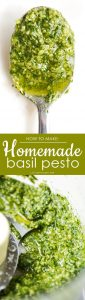 fresh basil recipes Homemade Basil Pesto