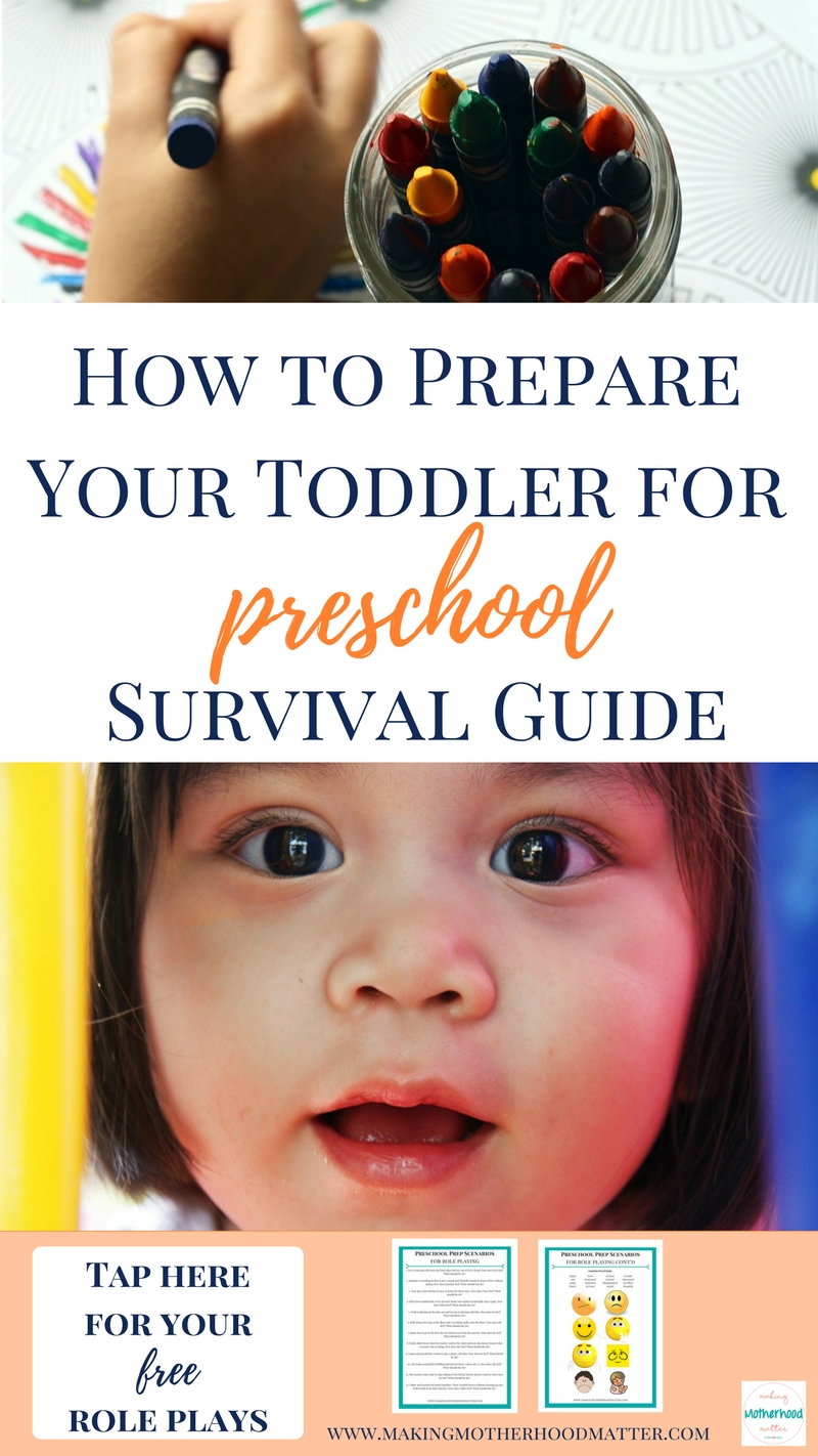 Prepare Your Toddler for Preschool