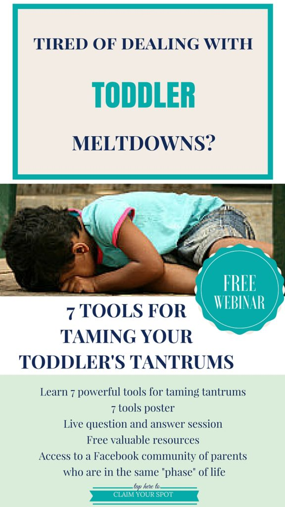 toddler tantrums how to handle