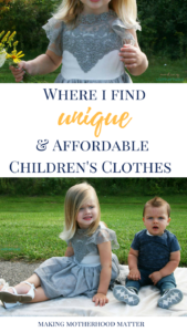 Affordable Children's Clothes