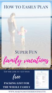 good family vacations