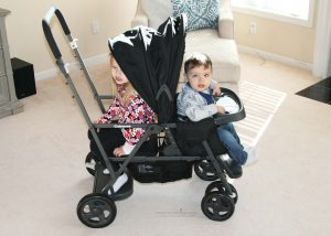 lightweight double stroller for toddlers