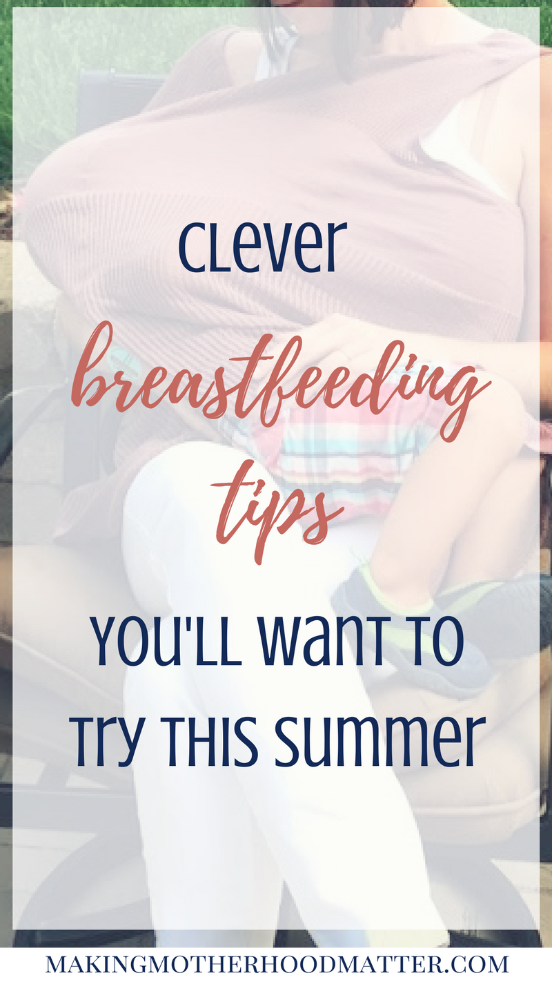 breastfeeding tips for summer