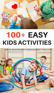 easy kids activiteis