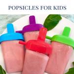 watermelon sorbet popsicle dessert for kids
