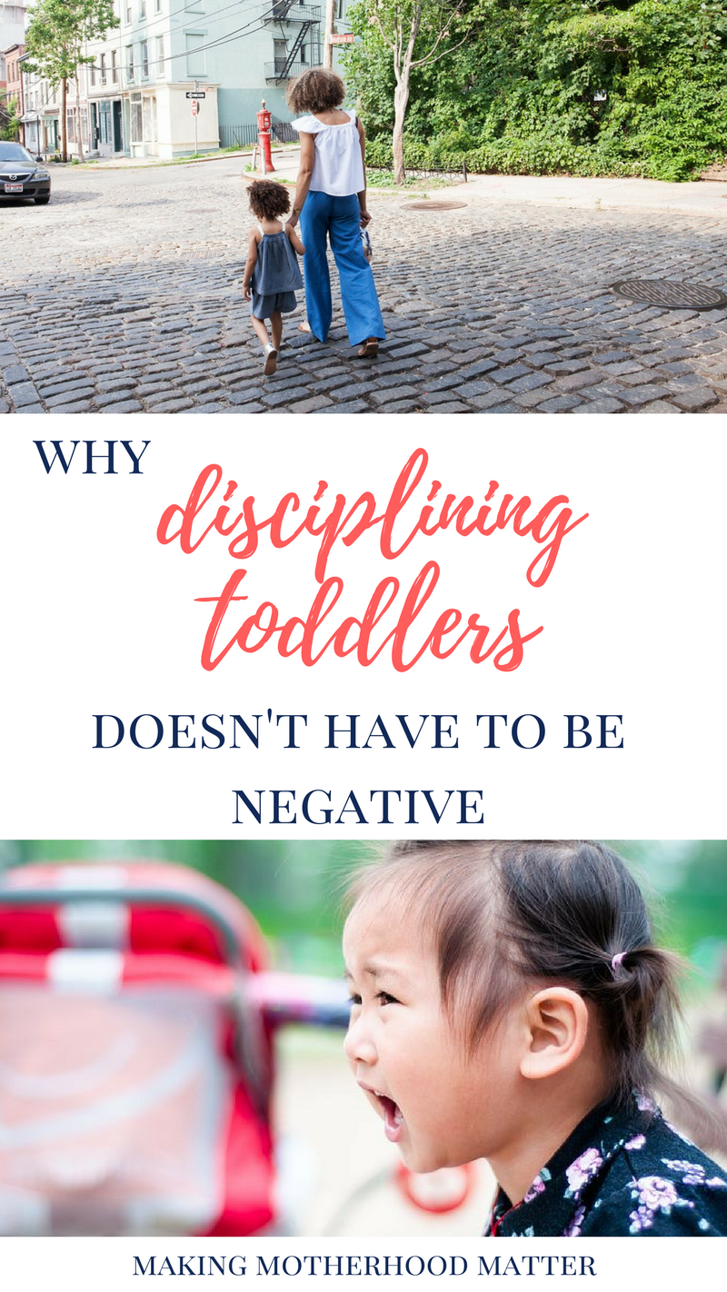 disciplining toddlers
