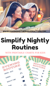 NIGHTLY ROUTINES FOR KIDS