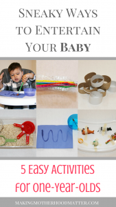 activities for one year olds