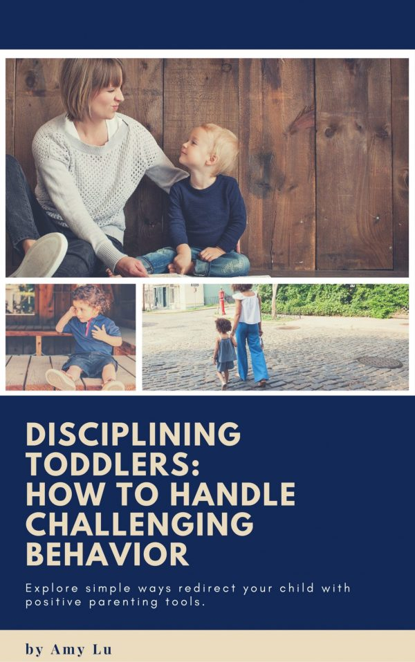 Disciplining Toddlers Book Cover By Amy Lu