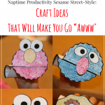 Seasame Street Craft Ideas