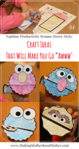 Seasame Street Craft Ideas