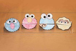 Sesame Street Craft Ideas