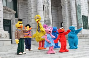 sesame street craft