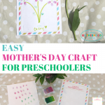 Mothers day craft ideas for preschoolers