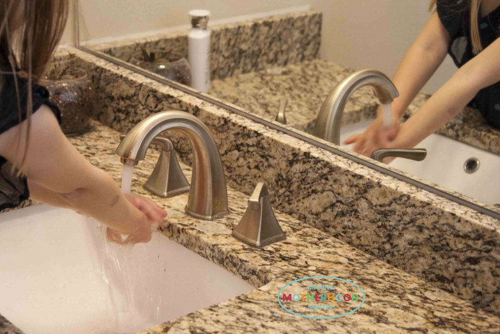 hand washing steps for preschoolers