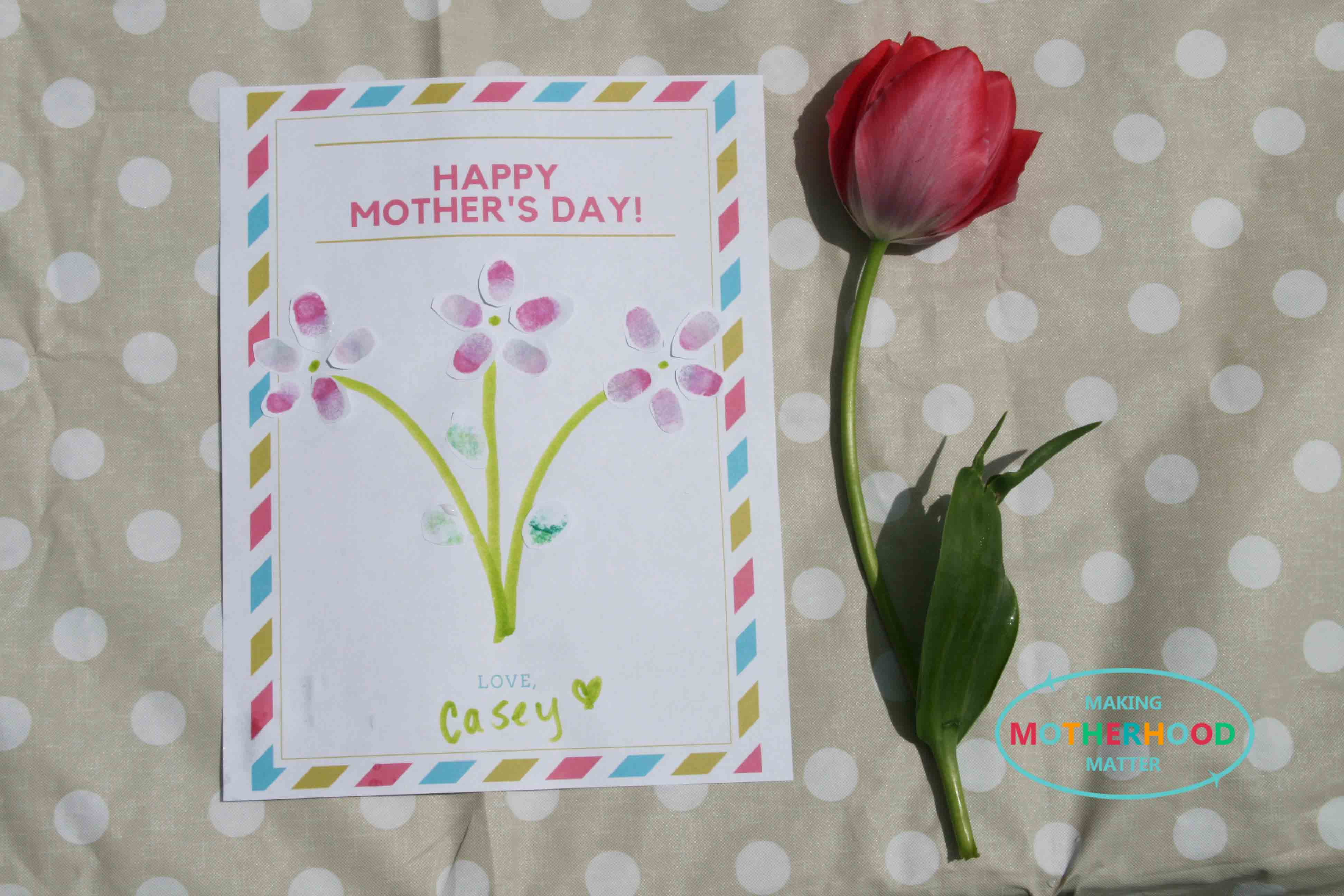 Mother's Day Craft Ideas For Preschoolers