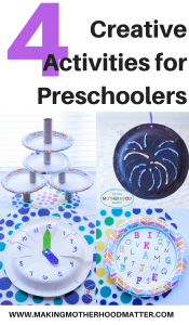 creative activities for preschoolers