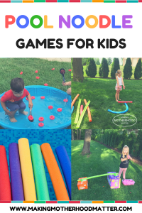 POOL NOODLE GAMES