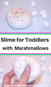 SLIME FOR TODDLERS