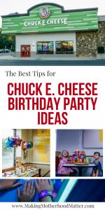 chuck e cheese party