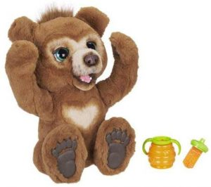 furreal cubby bear toy for five year olds