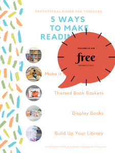 WAYS TO MAKE READING FUN FREE PRINTABLE