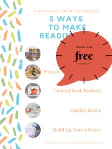 WAYS TO MAKE READING FUN FREE PRINTABLE