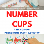 PRESCHOOL MATH ACTIVITY NUMBER SENSE