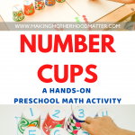 PRESCHOOL MATH ACTIVITY ONE TO ONE CORRESPONDENCE