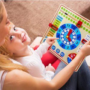 KIDS DAILY CALENDAR FOR HOMESCHOOL