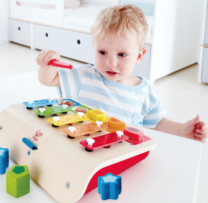 educational xylophone shape sorter